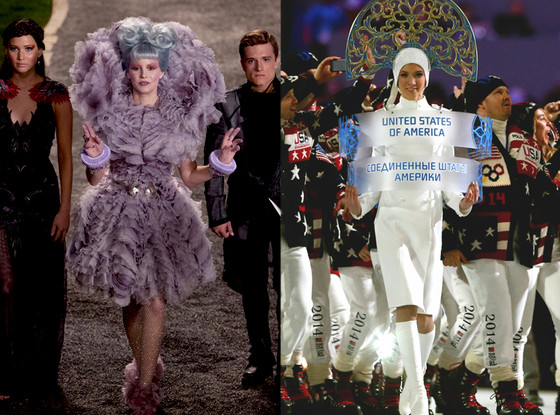 The Hunger Games: Catching Fire, Olympics Escort
